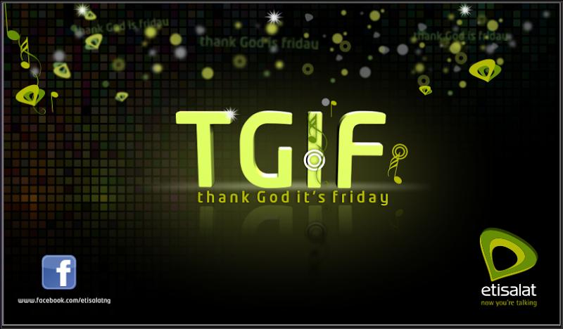 TGIF快樂星期五,盛裝打扮來上班 Thank God It's Friday - 奈及利亞打工日記