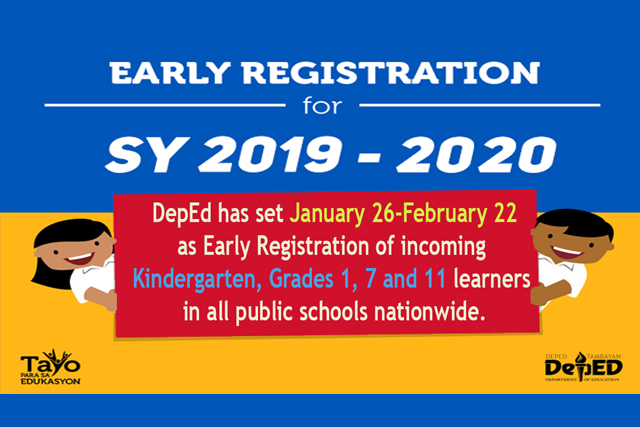 DepEd Holds Early Registration News BEaST Ph