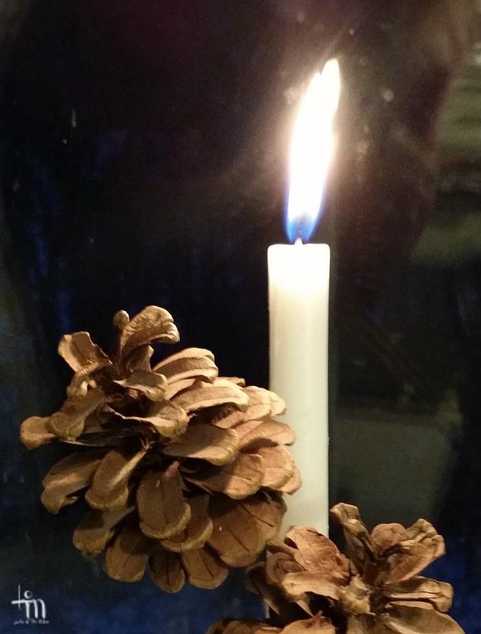 kynttilän liekki - candle light