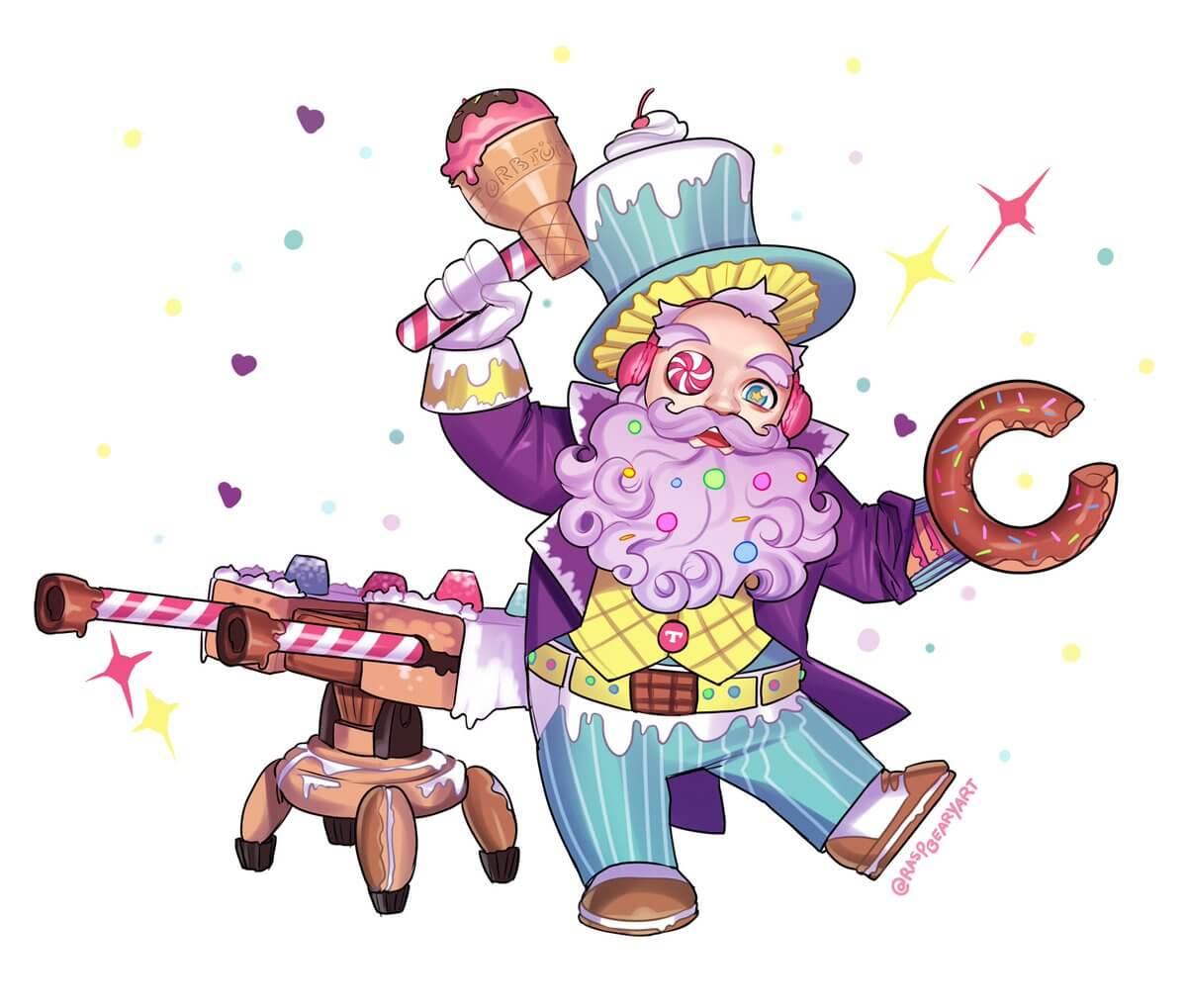 Candy Torbjorn by raspbearyart