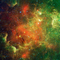The North America Nebula seen by Spitzer Space Telescope