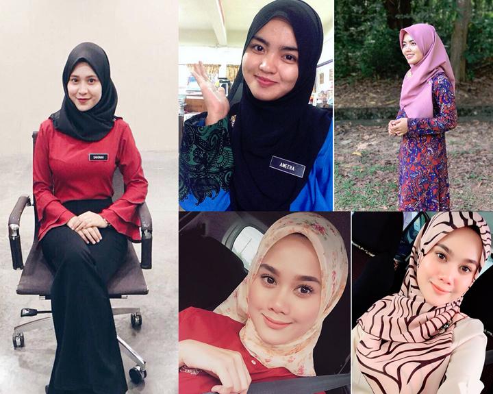 Cikgu Cantik Malaysia Viral di Internet