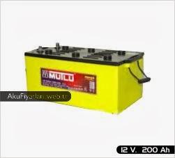 mutlu akü süper ağır hizmet serisi 12 volt 200 amper