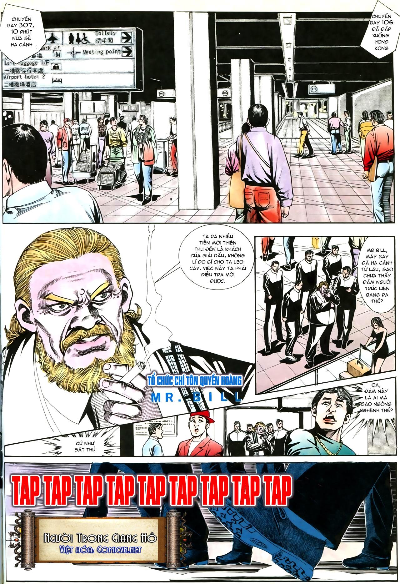 Người Trong Giang Hồ chapter 192: bá khí trúc liên bang trang 3