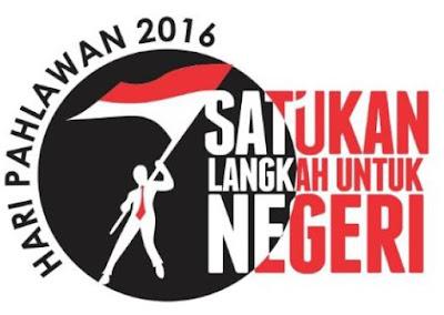 Apa slogan peringatan Hari Pahlawan tahun  Tema, Slogan, dan, Hashtag, dan Logo Hari Pahlawan ke-74 Tahun 2020