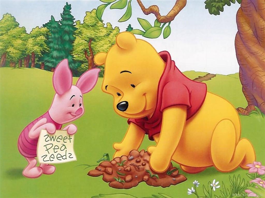 Cool WallPaper: 可愛圖案 Winnie the Pooh Wallpaper 2 小熊維尼電腦桌布 2