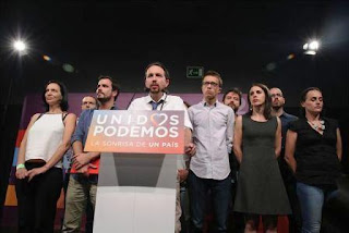 """Así lo analiza Iglesias en el programa Fort Apache que él mismo presenta, donde hace un análisis de las posibles causas que explican la bajada de votos de Unidos Podemos y descarta la hipótesis del fraude, """"impensable en un país como España"""", según recoge Europa Press."""