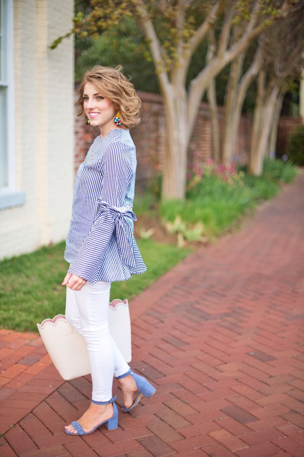 Spring Outfit Idea - See more on Something Delightful Blog