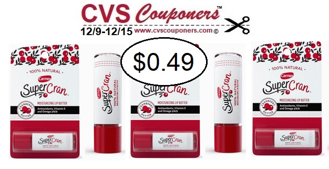 http://www.cvscouponers.com/2018/12/CVS-deal-Carmex-Super-Cran-Lip-Butters.html