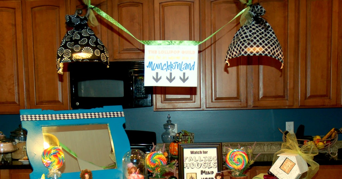 Restlessrisa Wizard Of Oz Party Part 3 The Decor