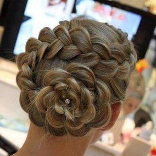 Sugar Plums Dutch Flower Braid Cute Girls Hairstyles