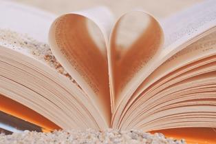 pagine a forma di cuore