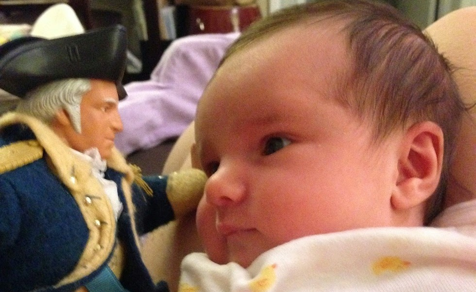 What the First 5 Presidents Taught Me About Raising My Newborn Daughter