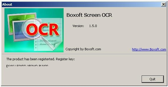 Mariya: Boxoft Screen OCR 1 5 0 Portable