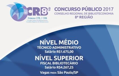 Concurso CRB 8ª região SP 2018