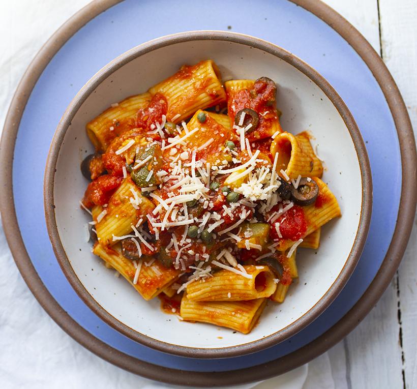 vegan pasta dinner