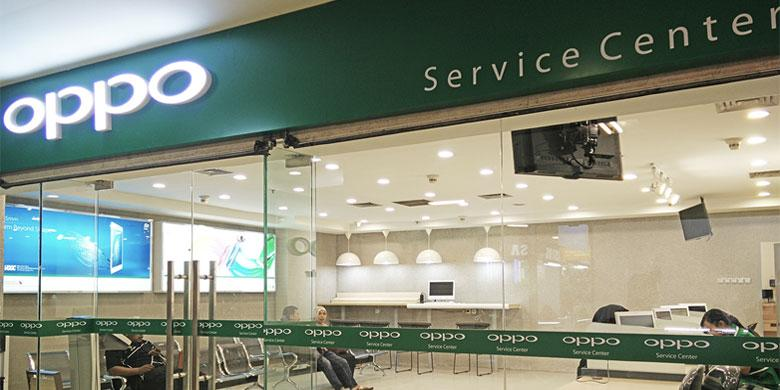 Service center Oppo di Makassar