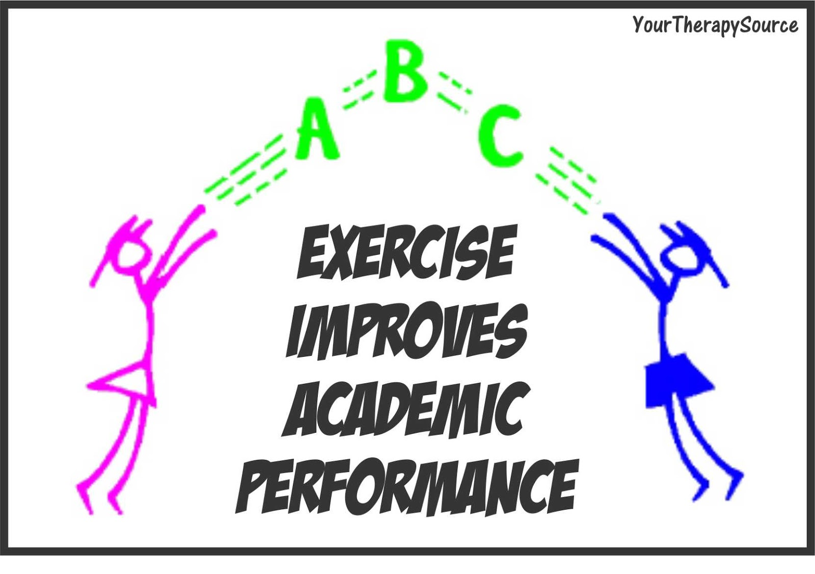 Visual Worksheet Exercise Fitness