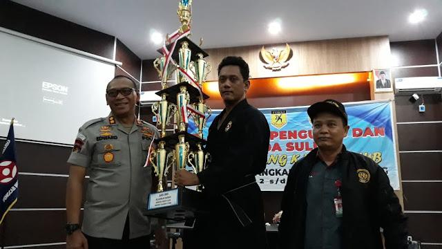 Kontingen Bandung Karate Club Bitung Raih Juara Umum