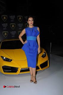 Actress Neha Sharma Latest Stills in Blue Dress at Lakme Fashion Week Summer Resort 2017  0006.jpg