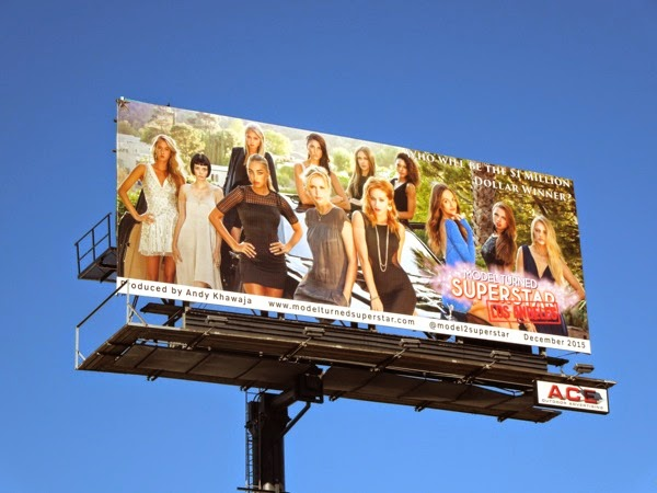 Model Turned Superstar Los Angeles billboard