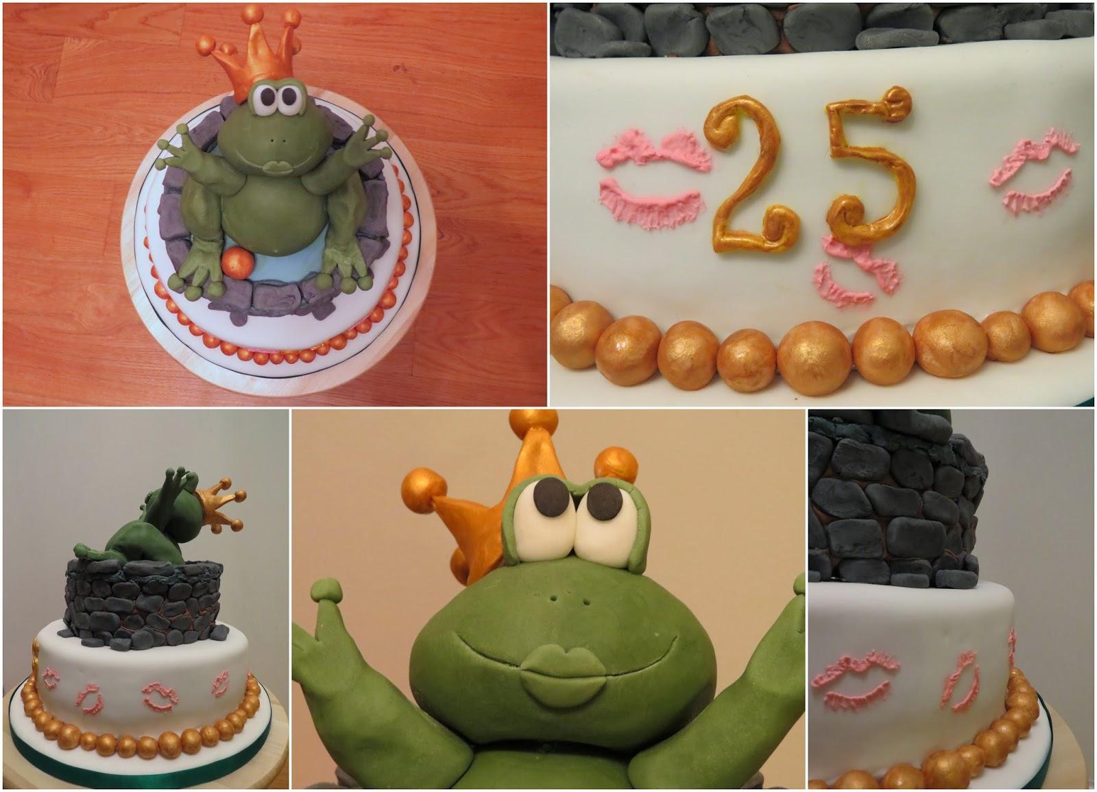 Froschkönig Torte