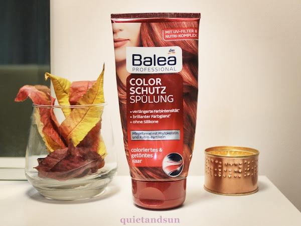 Balea Color Schutz Spulung, Odżywka do włosów farbowanych - czy niemieckie zawsze znaczy lepsze?