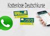 Deutschkurse kostenlos über whats app