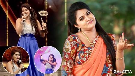 Yenda andha award vangunomnu thona vechutanga | Vijay Awards | Rachitha
