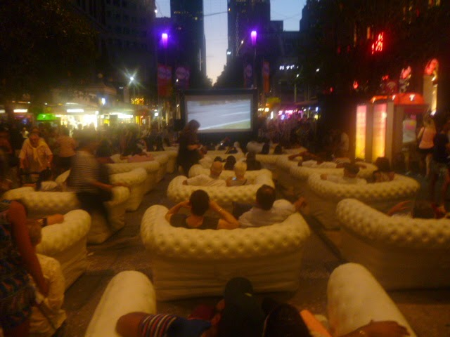 Bourke Street Mall Couches