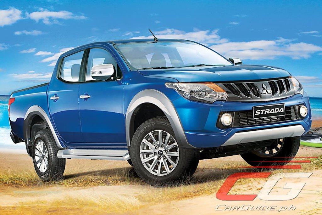 Montero Sport Price Philippines 2017 >> Mitsubishi Philippines Introduces MIVEC Diesel-Equipped Strada GLS 2WD (w/ Brochure ...