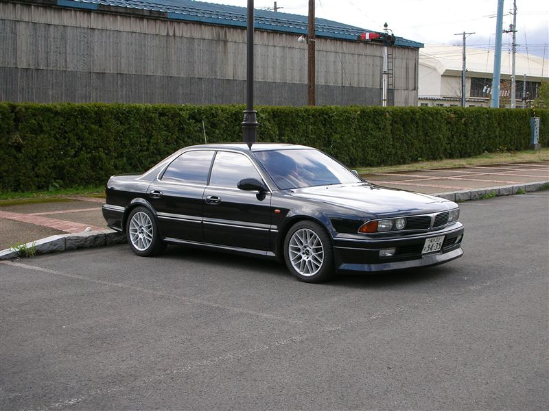 Mitsubishi Diamante, japoński sedan, japan car of the year, JDM