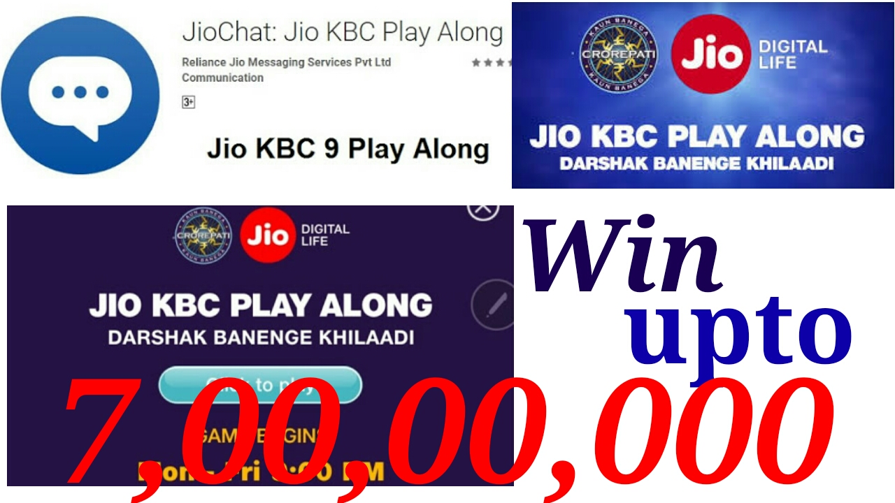 How to play KBC play along (Jio chat)