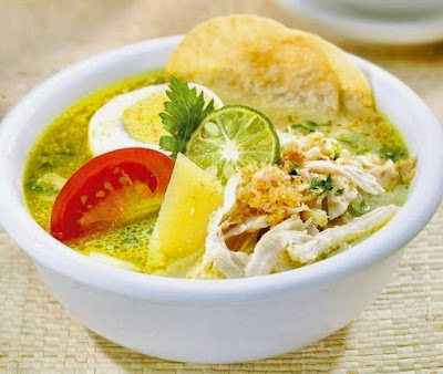 resep soto ayam simple