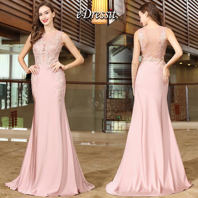 Nouvelle Robe Rose Hello Fashion World