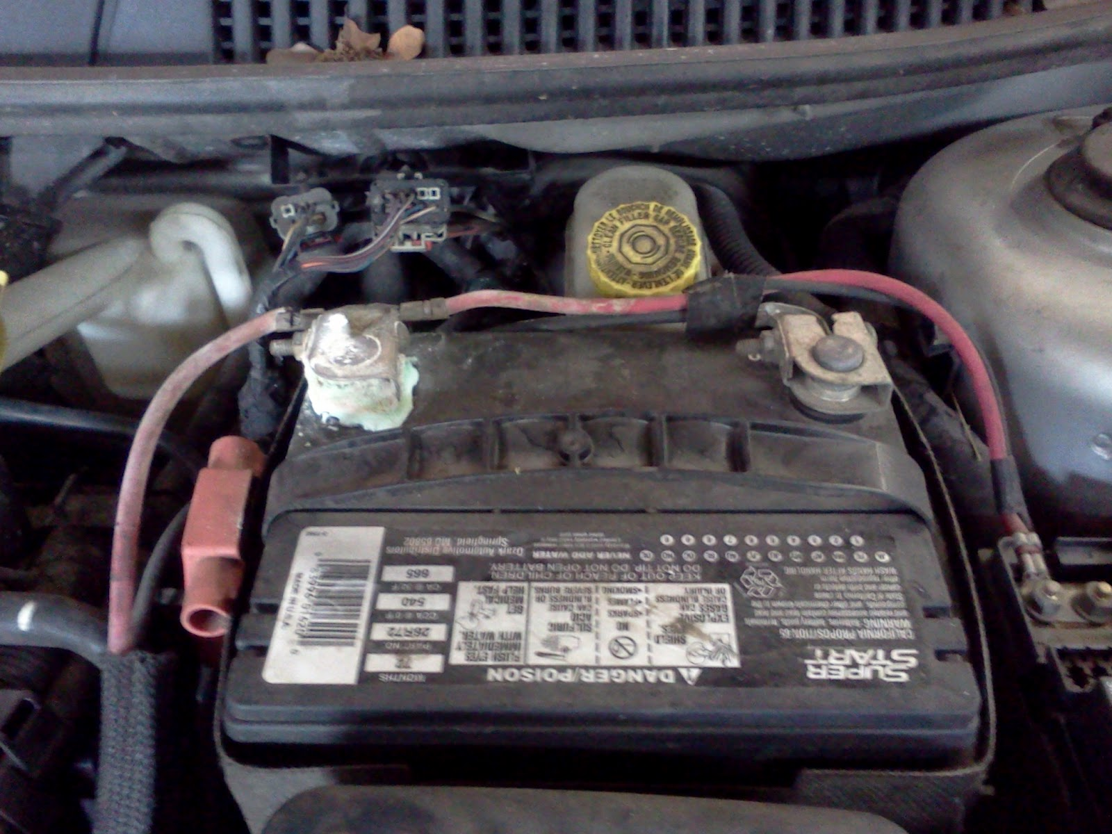 small resolution of 2000 dodge neon engine compartment wiring diagram