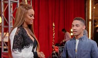 Tyra Banks Brandon Rogers America's Got Talent