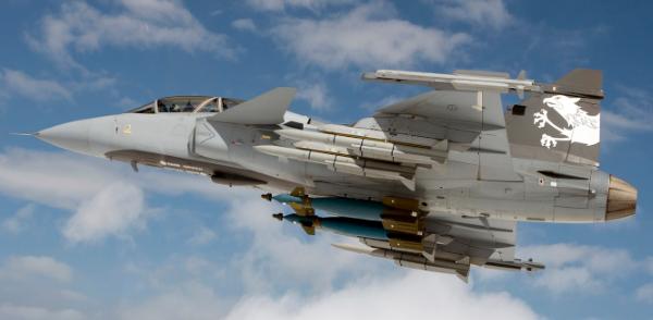 SAAB JAS 39 Gripen, Швеція