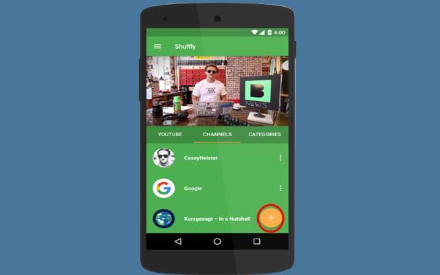 تطبيق أندرويد جديد يحول اليوتيوب الى جهاز تلفاز بشكل مدهش لمشاهد الفيديوهاتبدون توقف