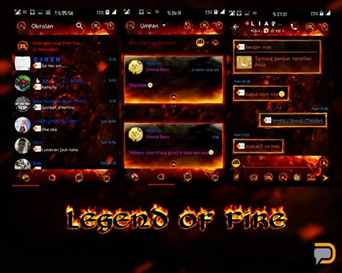 Droid Chat! v10.3.14 Legend of Fire.