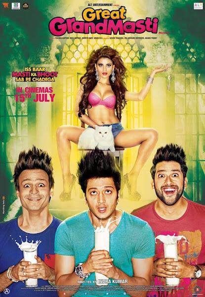 Poster of Great Grand Masti 2016 720p Hindi DVDRip Full Movie Download