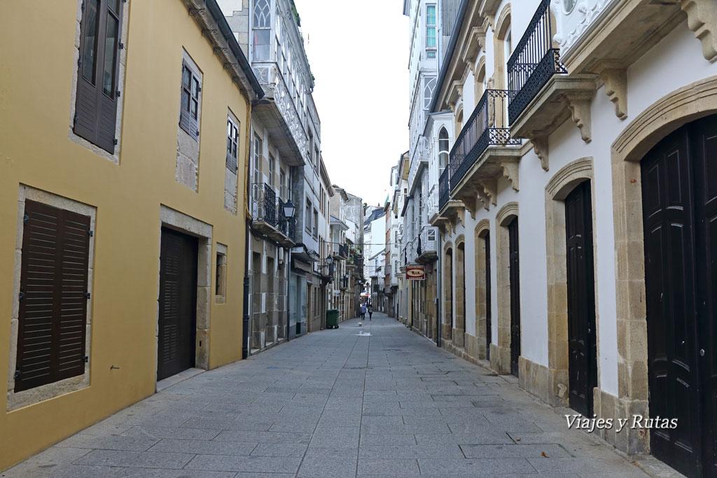 Calles de Viveiro, Lugo