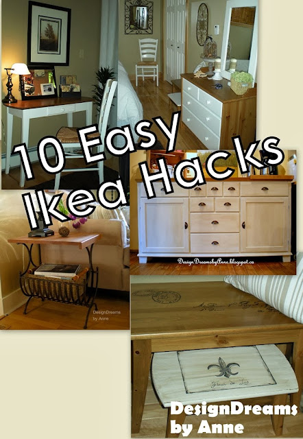 Designdreams By Anne Ten Easy Ikea Hacks Before After