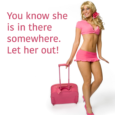 Let her out! - Sissy TG Caption