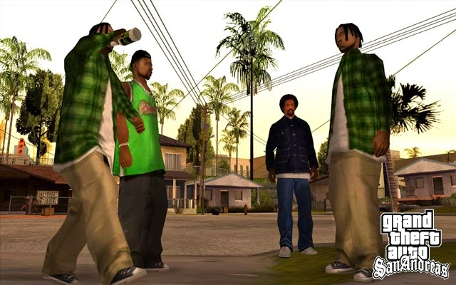 Download GTA San Andreas Single Link