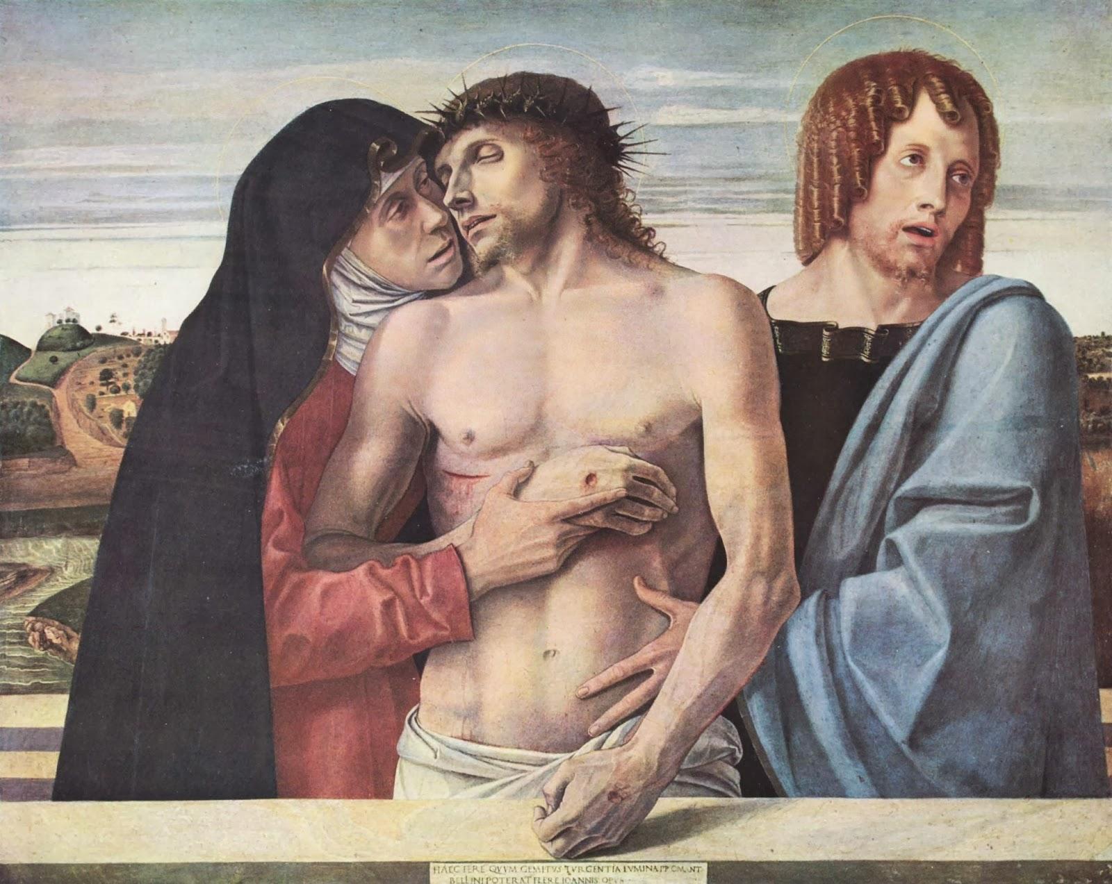 Bellini, Piedad de Brera