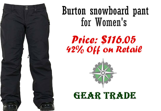 Review of a Quality Burton Snowboard Pant for Women