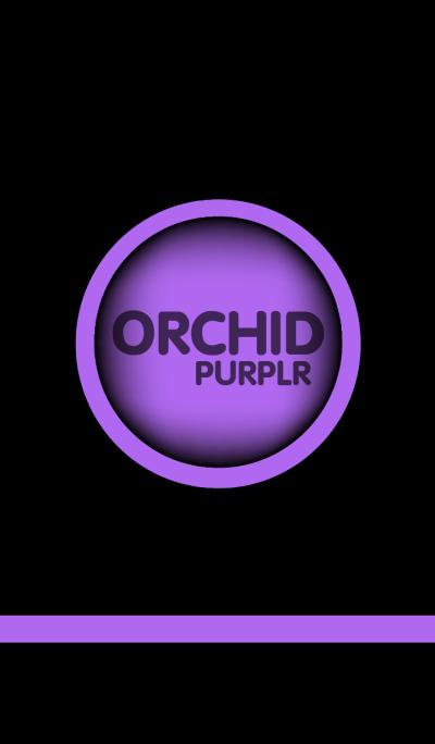 Orchid Purple in black