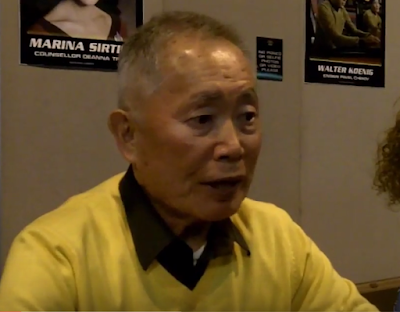george takei interesting flight experience