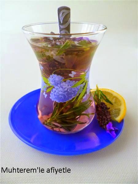 lavande tea